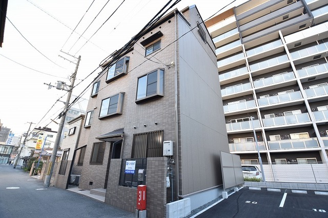 福田様邸借家の外観