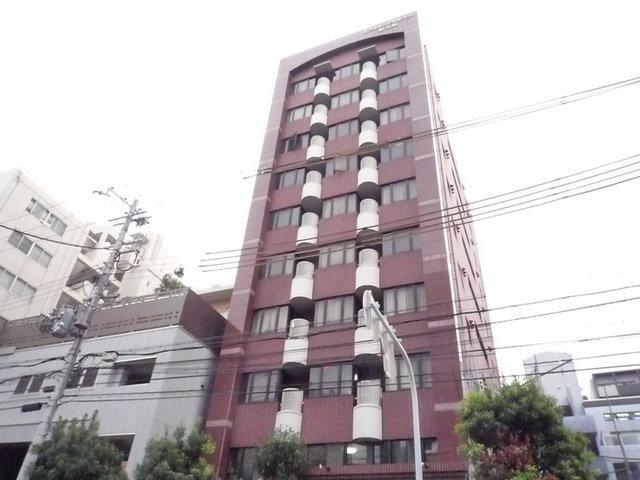 ミフネセントラルベア新大阪の外観