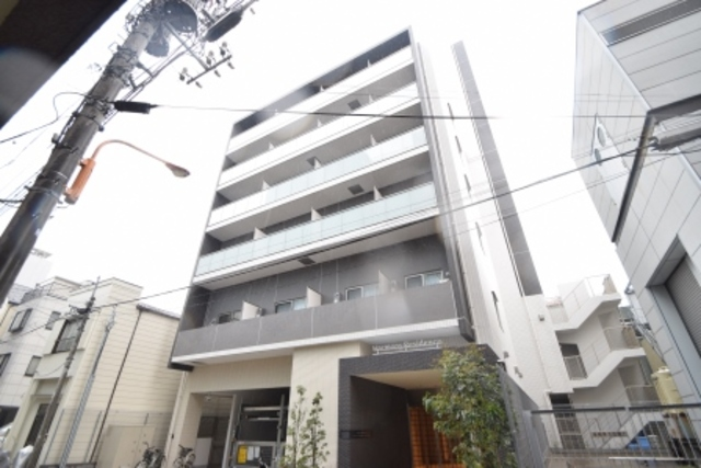 ハーモニーレジデンス菊川ステーションフロントの外観
