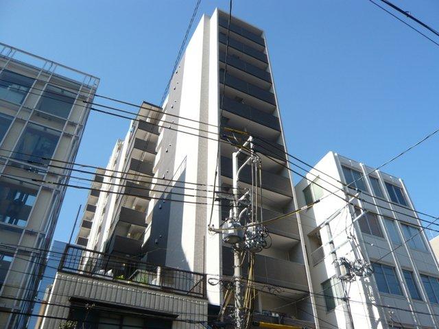 レジュールアッシュ大阪城WESTの外観