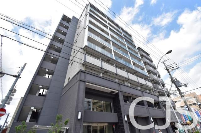 エスリード大阪城グランデュクスの外観