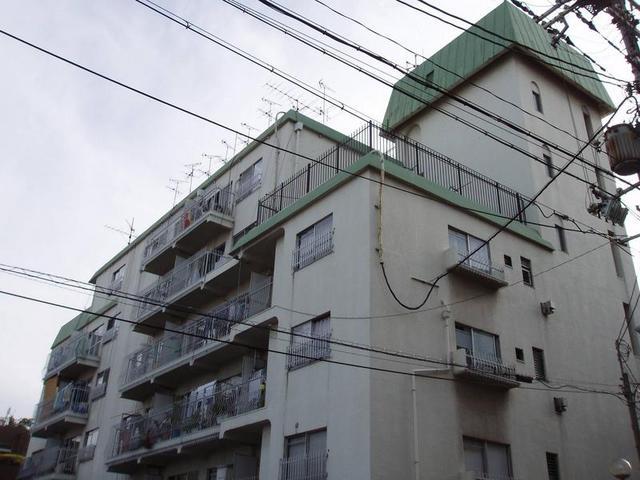 大川ハイツの外観