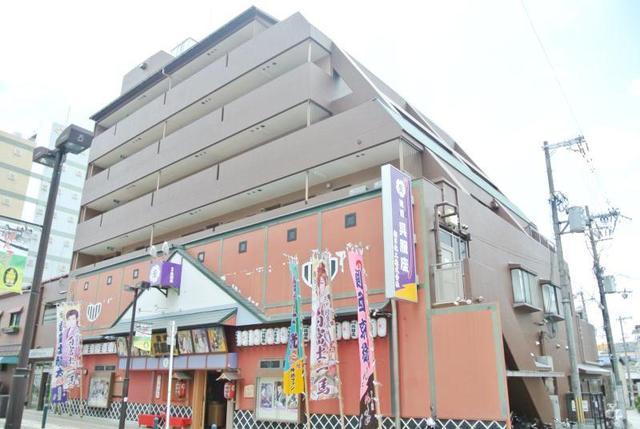 池田中央マンションの外観