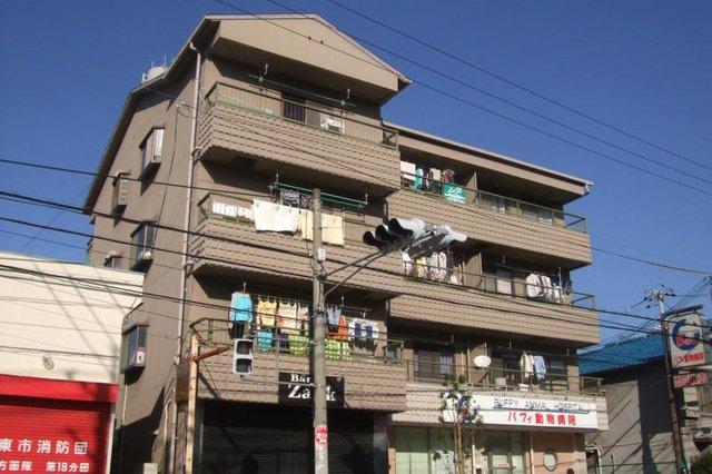 コーポラス住道の外観