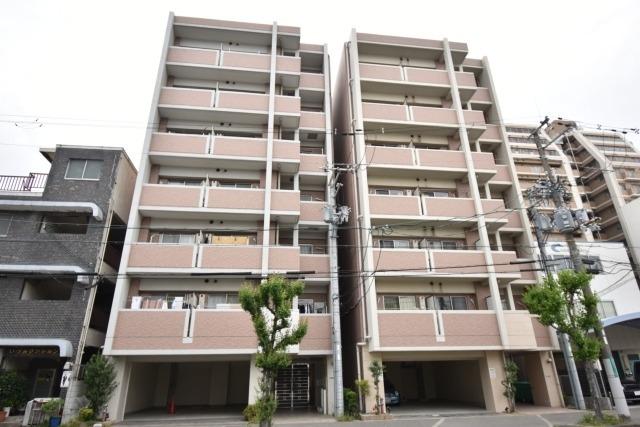宿院西TKハイツ2号館の外観