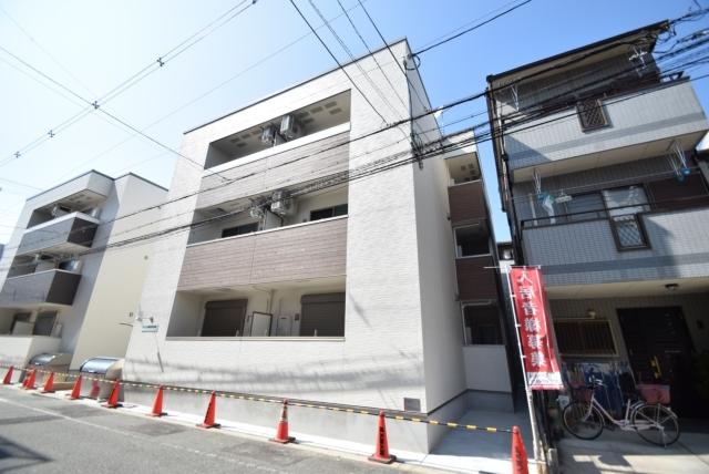 フジパレス駒川中野5番館の外観
