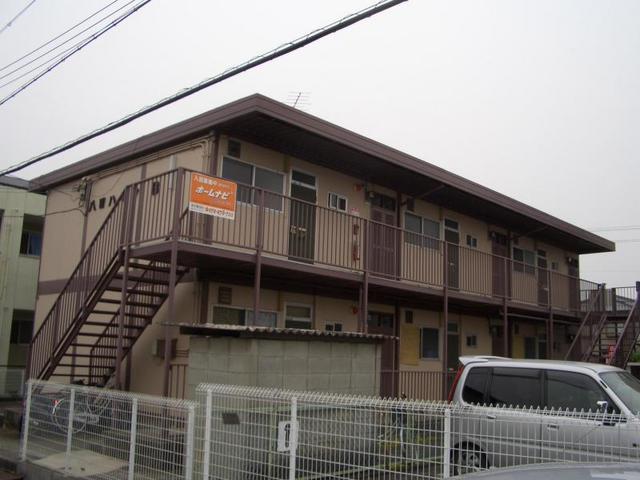 八田ハイツB棟の外観