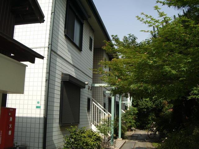 ガーデンハイツ阿倍野2号館の外観