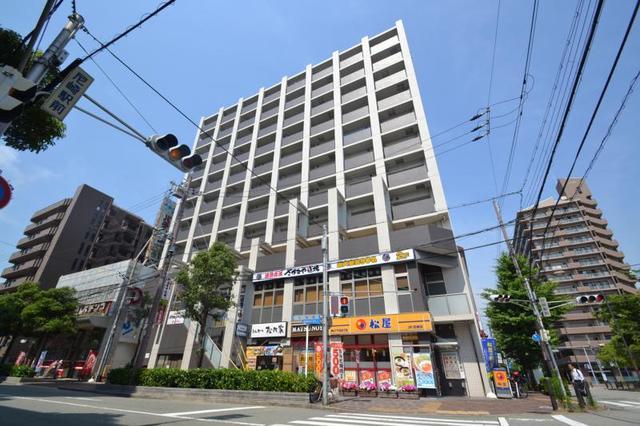 レジュールアッシュ尼崎駅前の外観