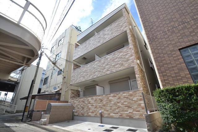 クリエオーレ東本町の外観
