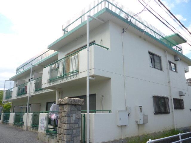 仁川コーポB棟の外観