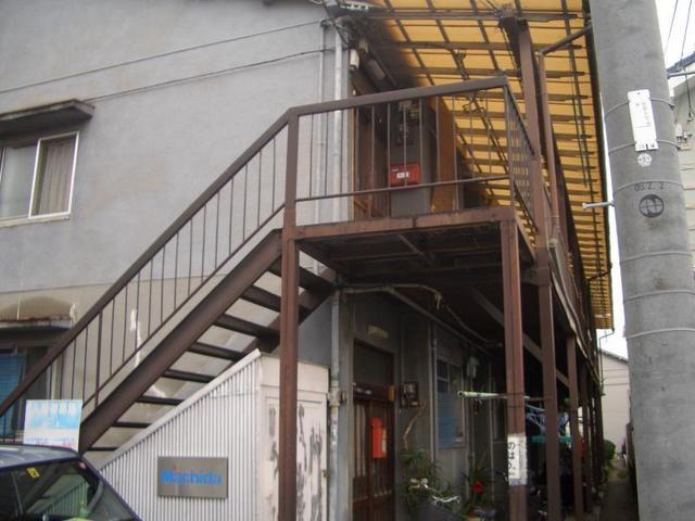 鳳8丁目文化住宅の外観