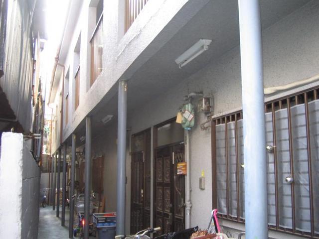 グリーンハイツ松岡の外観
