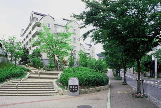 高槻・阿武山八番街-2の外観