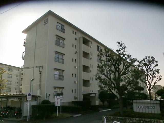 富田第二住宅59号棟の外観