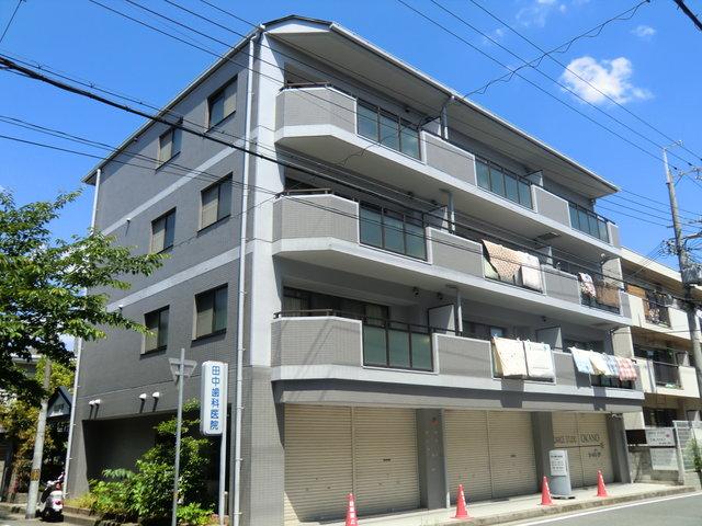 東園田21マンションの外観
