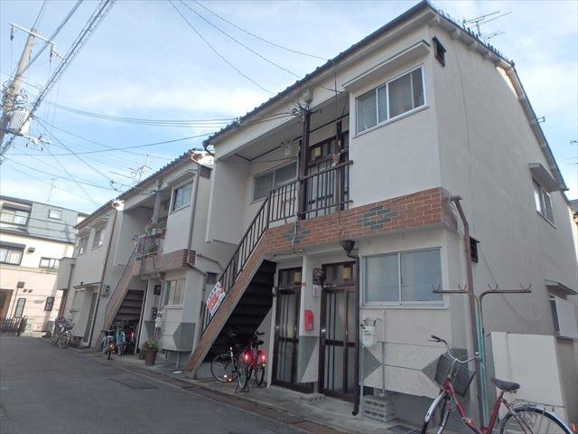 藤田アパートの外観
