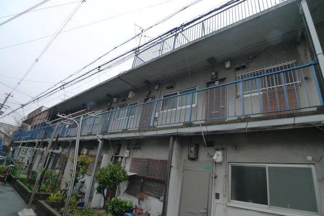 加藤文化アパートAの外観