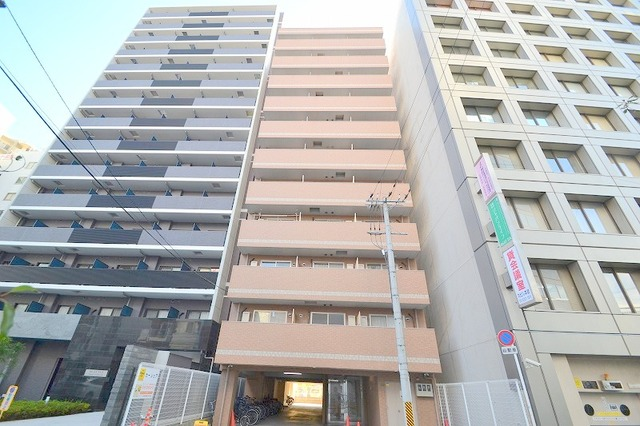 M'PLAZA新大阪駅前の外観