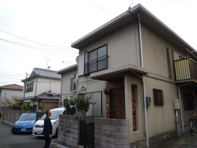 寺沢タウンハウスB棟の外観