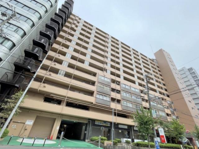 新大阪グランドハイツ2号棟の外観