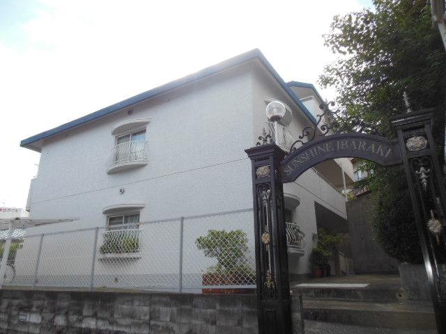 サンシャイン茨木B棟の外観