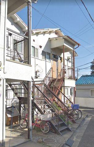 千里丘駅前アパートの外観