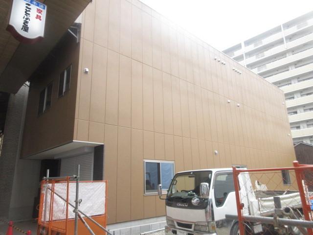 (仮称)茨木市元町 店舗付賃貸マンション新築工事の外観