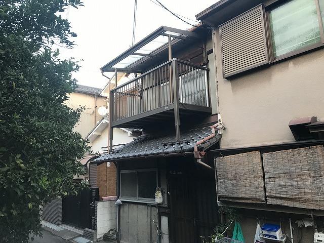 西桜木町56-4テラスハウスの外観