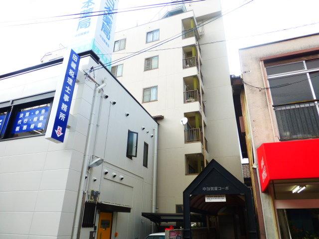 中加賀屋コーポ 店舗の外観