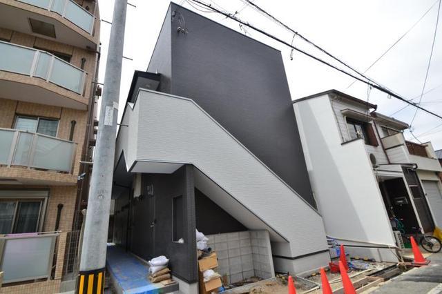 maison noireの外観