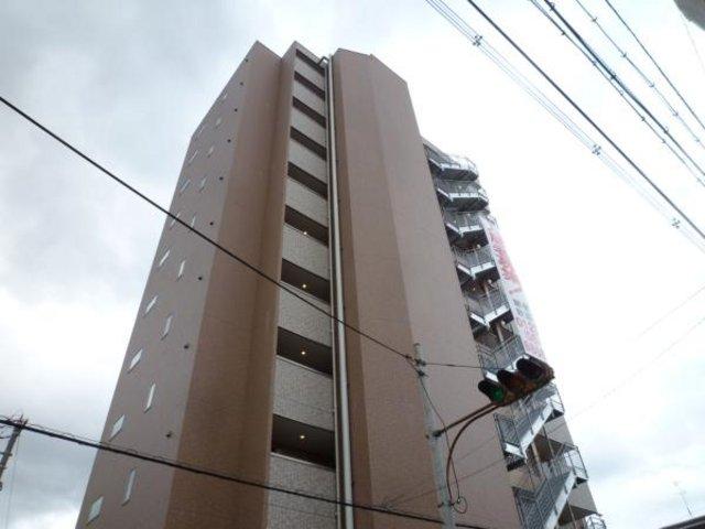 M'PLAZA高井田の外観