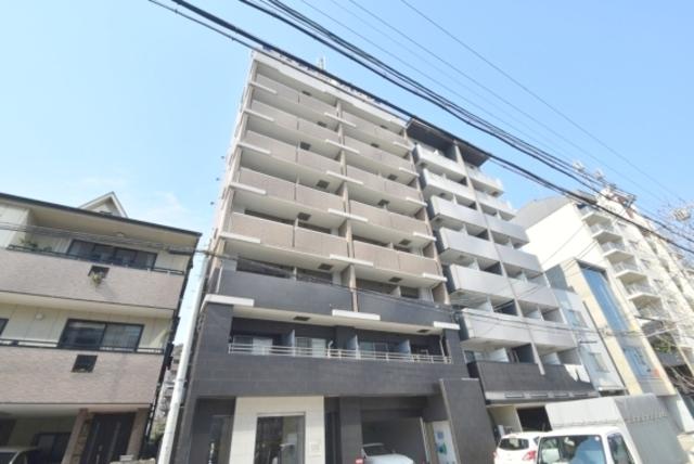 ラナップスクエア大阪城北の外観