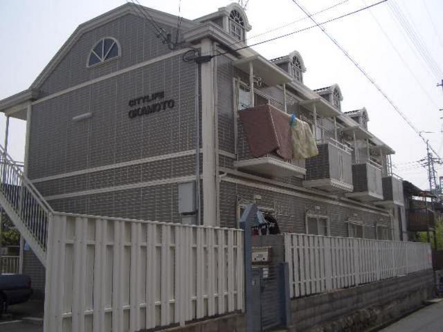 シティライフ岡本の外観