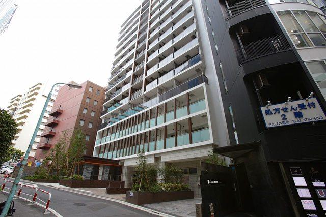 ザ・パークハウスアーバンス渋谷の外観