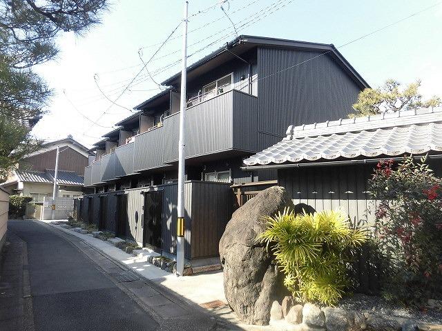 現代京町家稲穂の街の外観