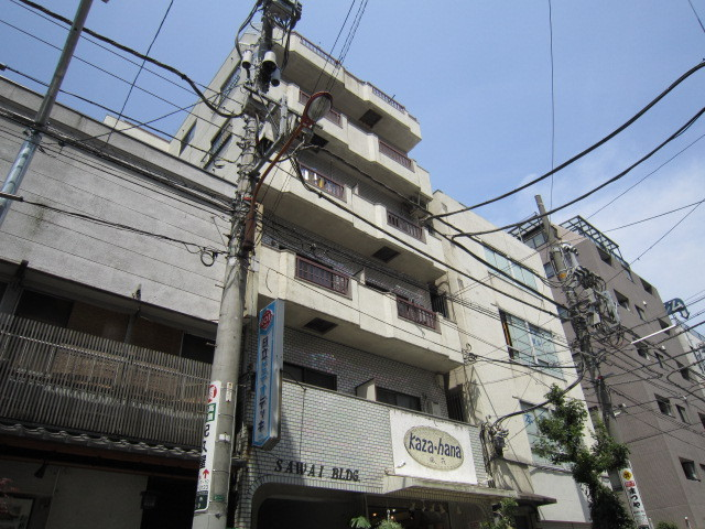 澤井ビルの外観