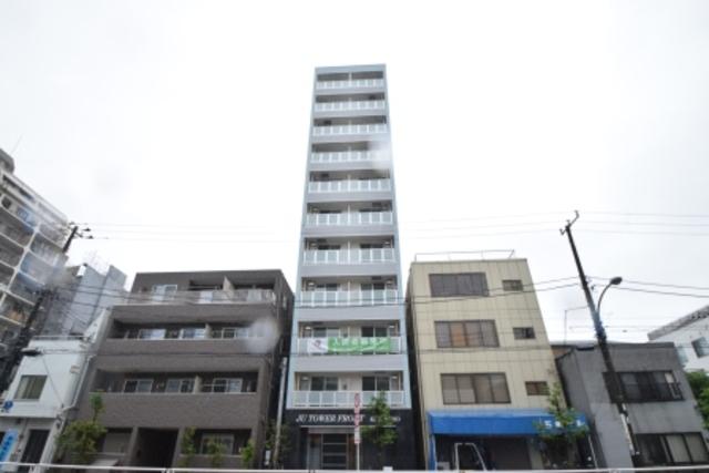 JUタワーフロントKINSHICHOの外観