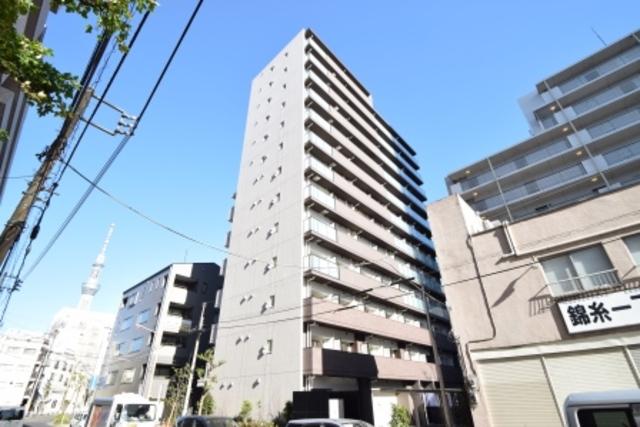 S-RESIDENCE錦糸町パークサイドの外観
