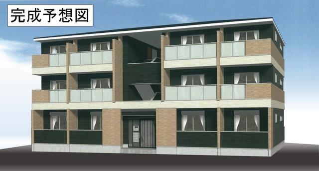 本堅田6丁目アパートAの外観