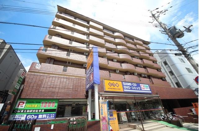 OMマンション東生駒の外観