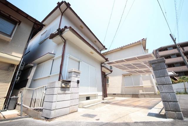 小明町戸建の外観
