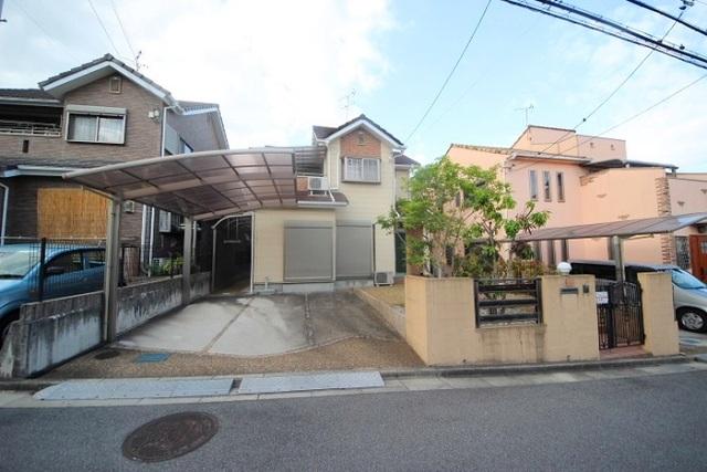 矢田山町戸建の外観