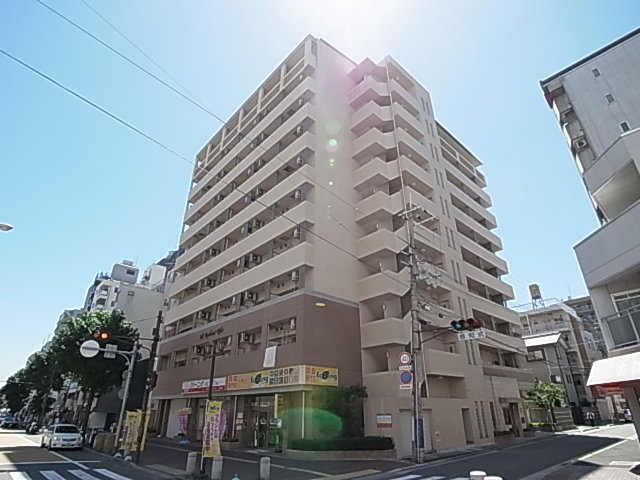 MS'レジデンス神戸の外観