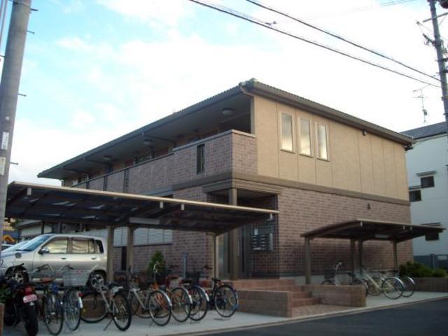 パークサイド渋川A棟の外観