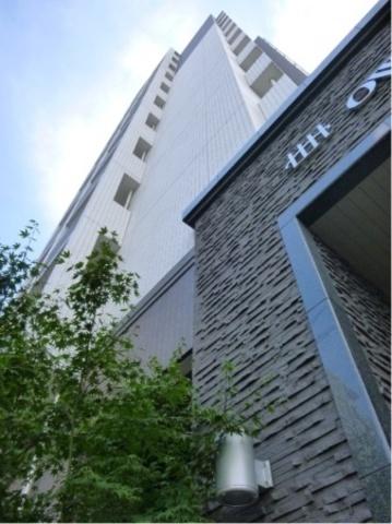 アウルステージアンシオ博多駅南の外観