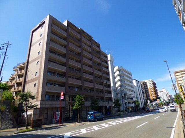 グランフォーレ桜坂ステーションプラザの外観