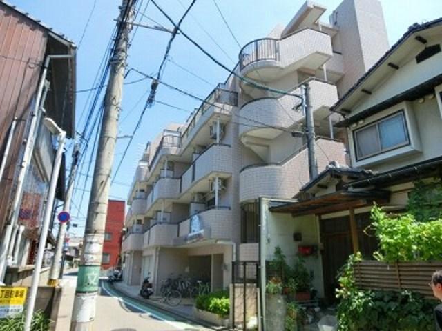 キャッスルマンション箱崎B号館の外観