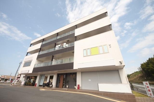 仮称)城山台新築ビルの外観