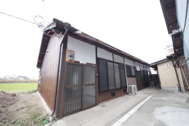 南永井町平屋の外観